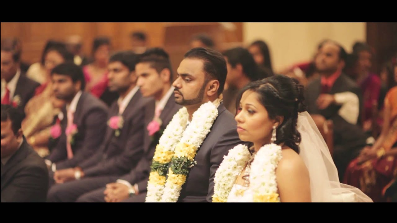 beautiful srilankan tamil Christian wedding documentry jude and devapriya -5d entertainment ...