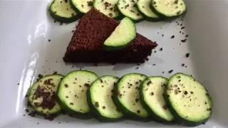 Gâteau au chocolat et à la courgette-  Recettes faciles et lights: RFL Kathleen Liscia