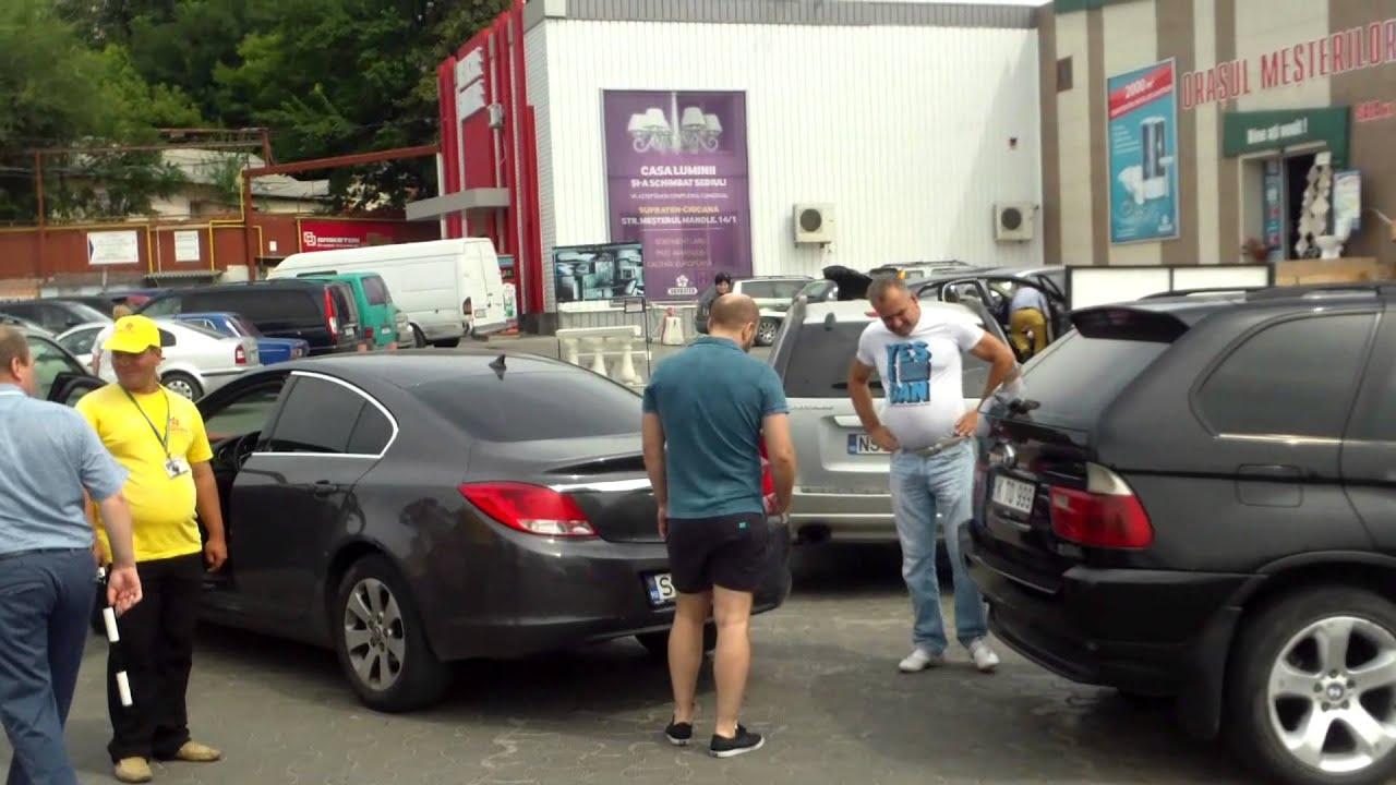 Accident ușor în parcare la Supraten