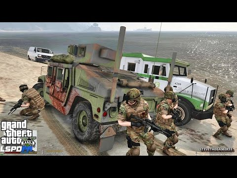 GTA 5 LSPDFR 0.3.1 - EPiSODE 397  - LET'S BE COPS - MILITARY/ SWAT PATROL (GTA 5 PC POLICE MODS)