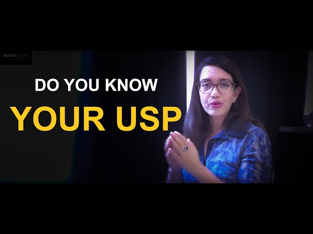 What is your unique selling point | Nupur Gupta