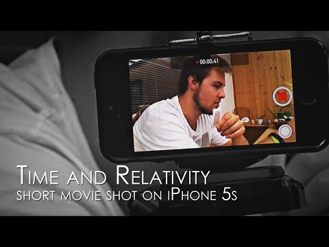 Time and Relativity (short movie shot on iPhone 5, české titulky)