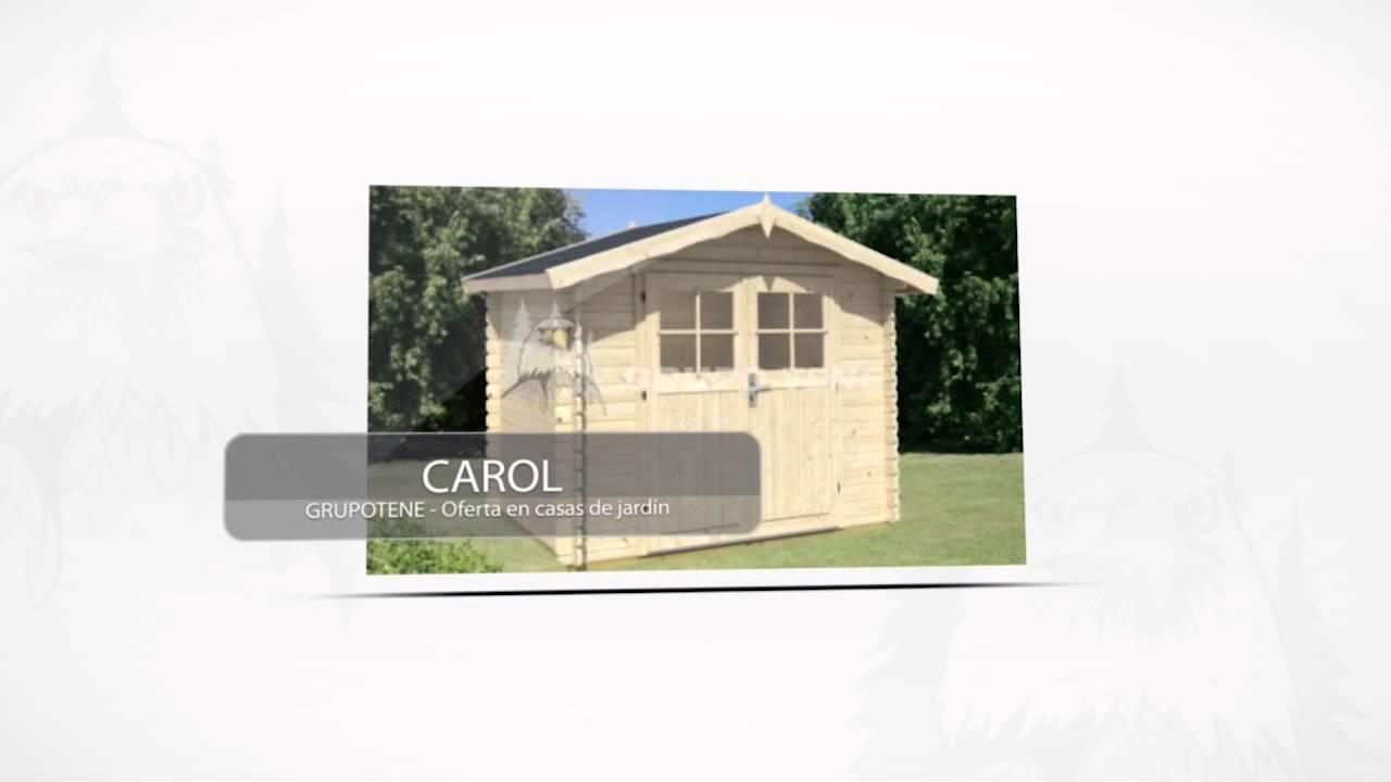 646e225998d Oferta casas de madera para camping - YouTube