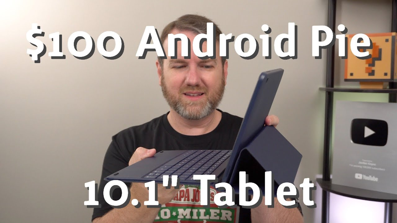 $100 Android 9 0 (Pie) Tablet with Keyboard Cover! Onn 10 1