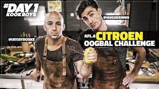 Citroen Oogbal Challenge in PASTA WORST en SALIE | Kookboys | DAY1