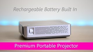 ASUS S1 Portable Projector Review LED - Movie Thertre on the Go - Battery Built In HTPC