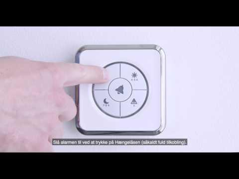 G4S SMARTalarm - sådan slår du alarmen til og fra