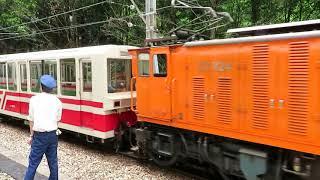 黒部峡谷鉄道トロッコ電車 出平駅発車 Kurobe Gorge Railway Scenic Train
