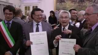 Dott. CALOGERO SORCE CAVALIERE DELLA REPUBBLICA ITALIANA. Cerimonia di consegna (2 giugno 2015)
