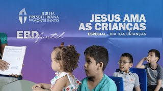 EBD INFANTIL IPMS | 25/10/2020 - Sala Josias 6 a 8 anos