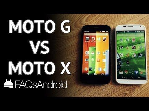 Motorola Moto G vs Motorola Moto X: los comparamos