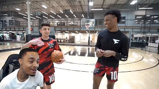 FlightReacts Bronny James VS FaZe Rug Intense 1v1!