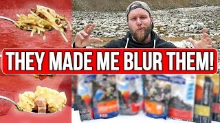 Testing US Camping MRE (Meal Ready to Eat) | Freeze Dried Food Taste Test Challenge