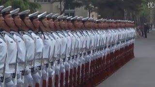 Daily training Chinese naval honor guard 2(仪仗队的日常) thumbnail