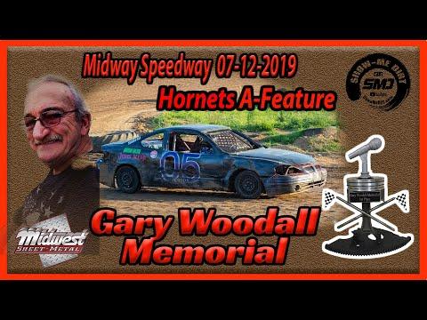S03 E340 Gary Woodall Memorial - Hornets A-Main - Lebanon Midway Speedway 07-12-2019
