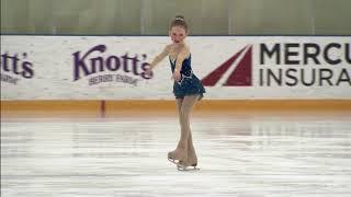 Ellarose Kaylor ice skates to Brave for Spring Fling