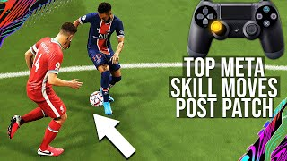 Top 3 Meta SKILL MOVES To Beat Your Opponent & Get More Wins! (POST PATCH TUTORIAL) - FIFA 21