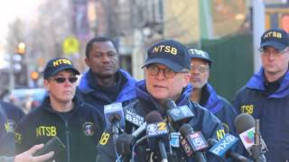 Sumwalt briefing on E. Harlem gas explosion