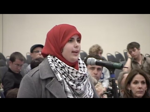 David Horowitz Brilliantly Exposes Muslim Student's True Intentions - UC San Diego