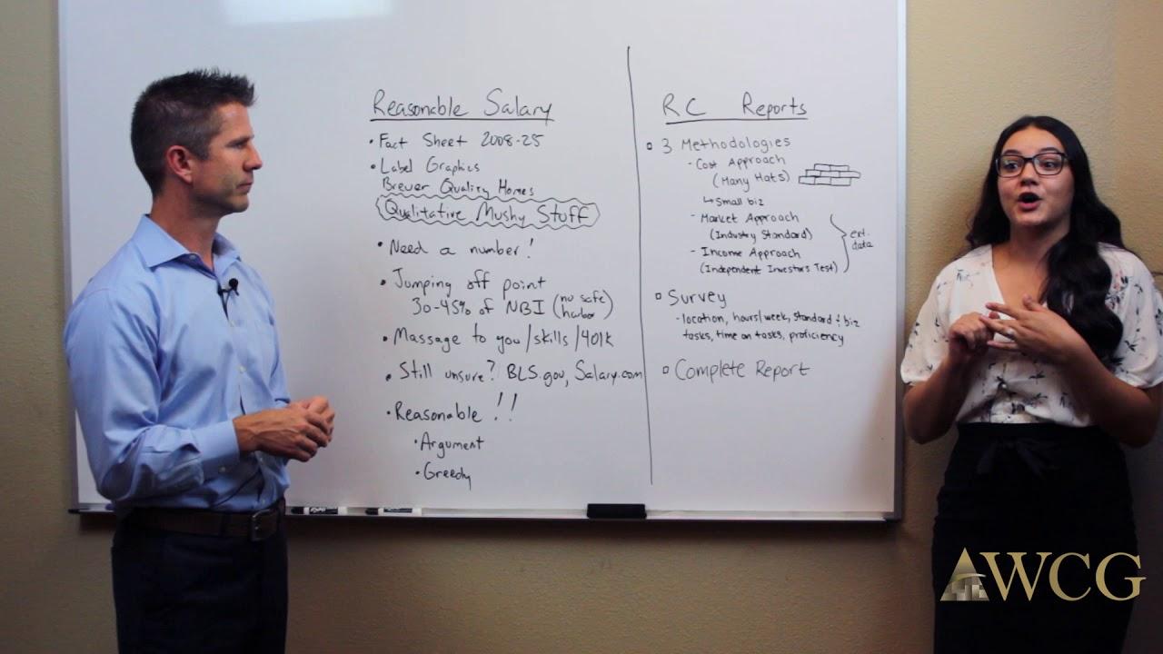 Calculating Reasonable Shareholder Salary - Watson CPA Group