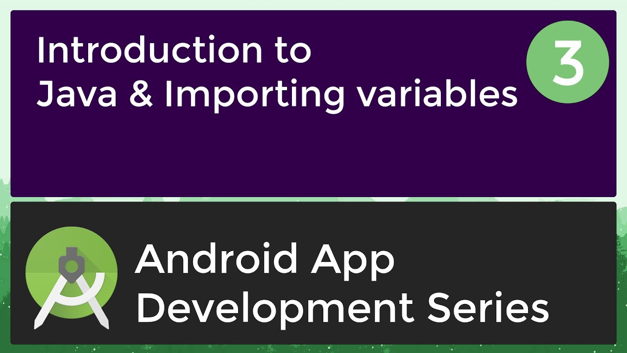 Android application development tutorial for beginners 3 2017 android application development tutorial for beginners 3 2017 java importing variables baditri Gallery