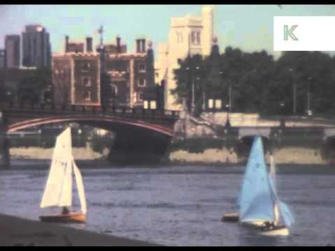 Early 1980s Pimlico, South London, Rare Home Movie Footage