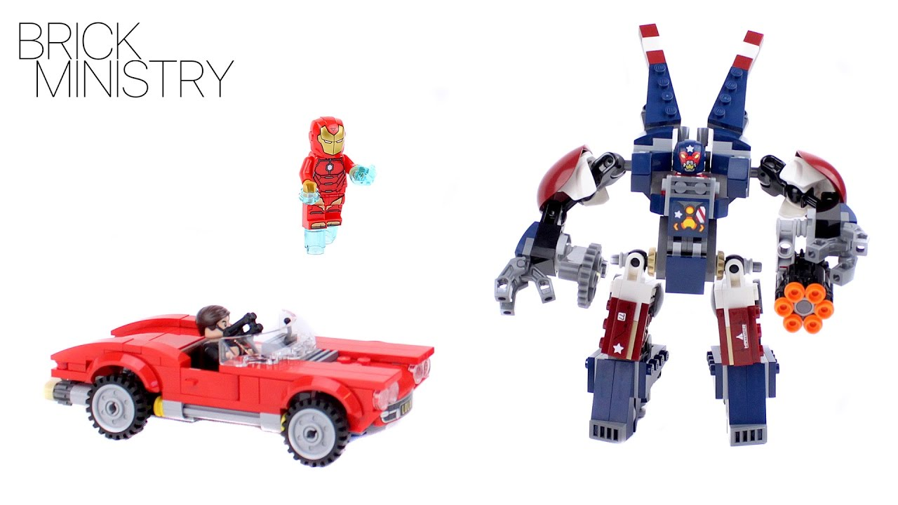 LEGO 76077 Super Heroes Iron Man: Detroit Steel Strikes ...
