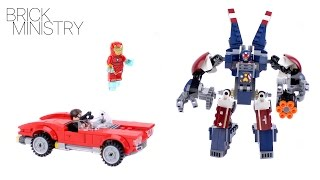 LEGO 76077 Super Heroes ● Iron Man: Detroit Steel Strikes