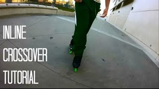 Inline Skating: Forward Crossover Tutorial (Narrated)
