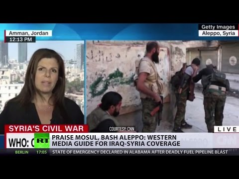 Praise Mosul, bash Aleppo: Western media guide for Iraq-Syria coverage