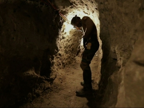 US Border Patrol 'Tunnel Rats' Search Passages