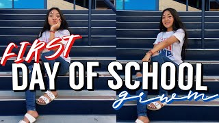 FIRST DAY OF SCHOOL GRWM (SOPHOMORE YEAR)