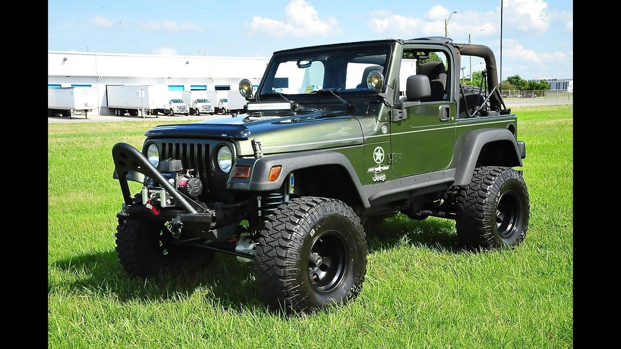 Jeep Wrangler Tj >> Davis Autosports Jeep Wrangler Tj Lifted For Sale Youtube