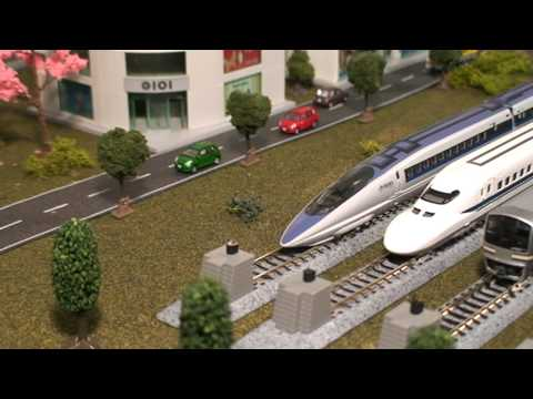 Kato City Layout (part 2) – Japanese Model Train (N Scale)
