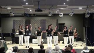 Silvery Moonlight Waltz - Line Dance - by The Cherry Blossom Dancers ( NL/Mar. 11 ) - Demo -
