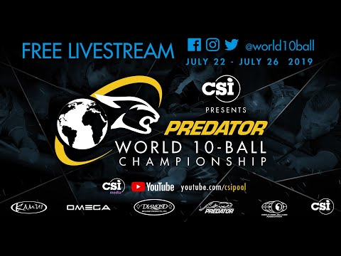2019 Predator World 10-Ball Championship: Alex Pagulayan vs Darren Appleton
