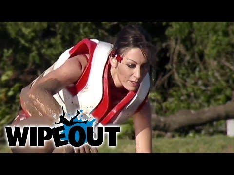 Woman's Big Ball Epic Fail | Wipeout HD