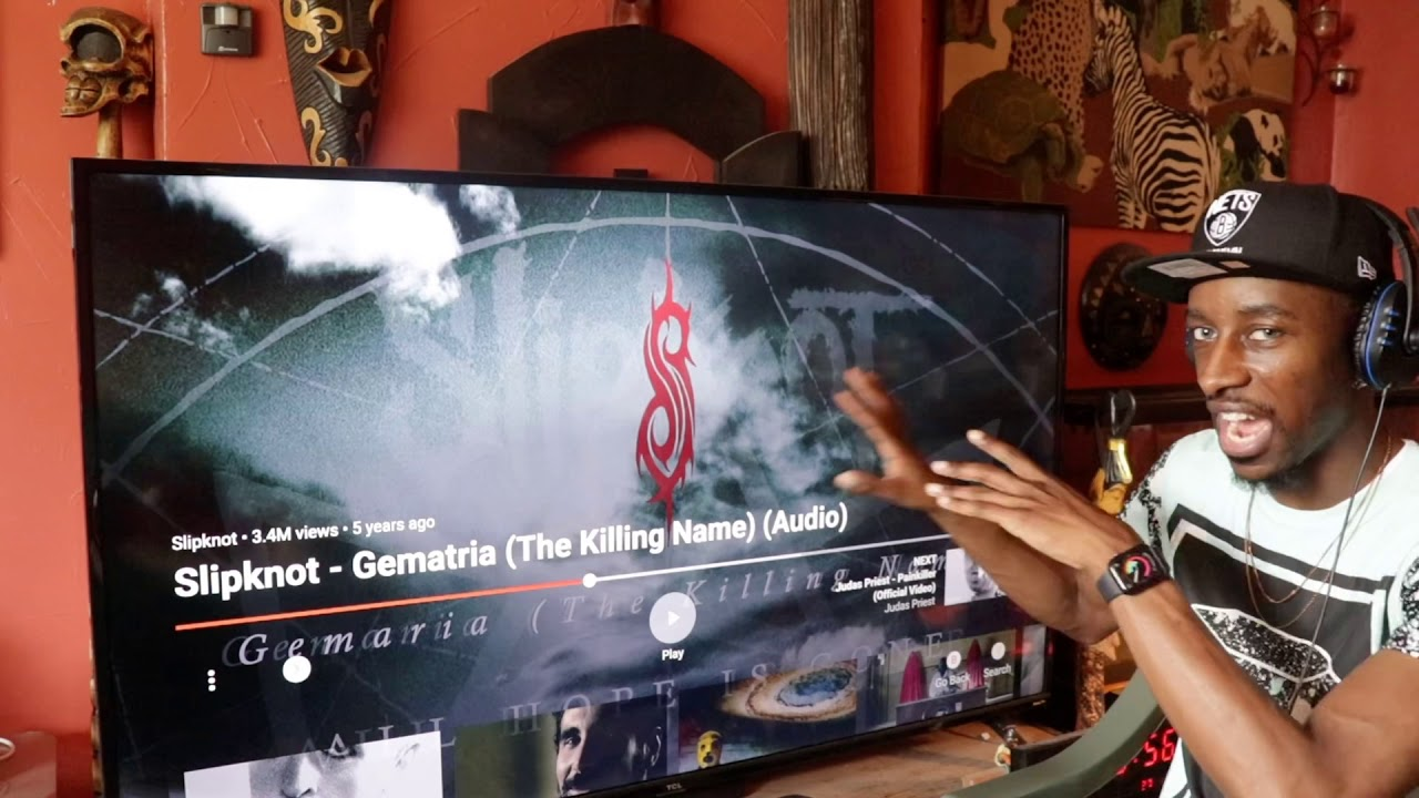 Slipknot - Gematria (The Killing Name) | Reaction 🇺🇸