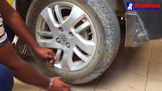How to change Car Tyre – Episode 7