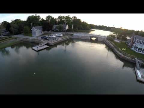 Bluefish River Duxbury MA Shot In 4k