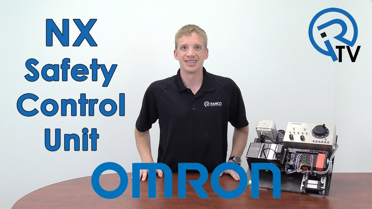 Omron NX Safety Control Unit - YouTube on car relay wiring, auto relay wiring, orion relay wiring, idec relay wiring,
