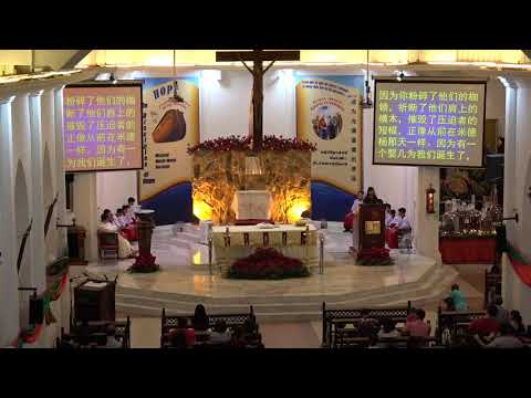Church Of The Visitation Seremban 2017 Christmas Eve Mass (Mandarin)