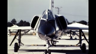 1970, CONVAIR, F-106 DELTA DART AT TYNDALL AFB, FLORIDA