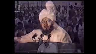 Address on Second Day, Jalsa Salana 1 August 1987.
