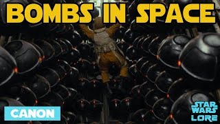 Dropping Bombs in Space - Star Wars Science Explained