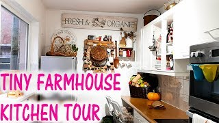 Tiny House  Tour | Kitchen Tour | Farmhouse Style With Rustic Charm
