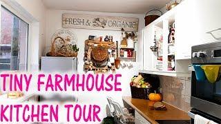 Tiny House  Tour | Kitchen Tour | Farmhouse Style With Rustic Charm