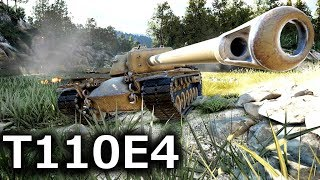 【WoT/PS4】ゆっくり戦車道はじめます! part28「T110E4」