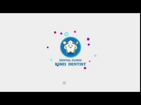 モーションロゴデザイン作成サンプル - 歯科医院ロゴ    モーションロゴ作成の外注・依頼