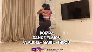 3 PEOPLE  DANCING KOMPA / CLAUDEL - MARIE- INDIANA